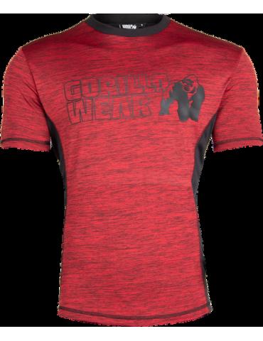 Gorilla Wear Rød Austin t skjorte